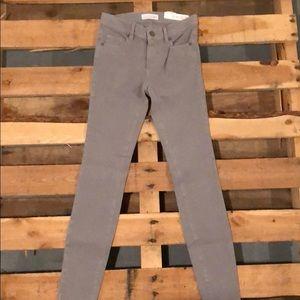 NWT gray loft performance denim legging